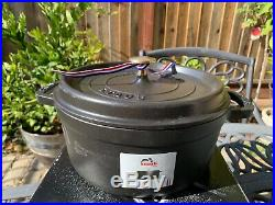 Staub Matte Black Cast Iron Dutch Oven 4 Qt 24 New