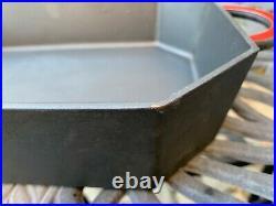 Staub Vintage Matte Black Roaster with Lid Cast Iron 3.5 Qt