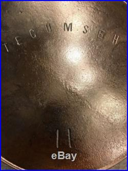 Tecumseh 11 Cast Iron Skillet