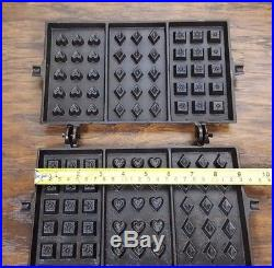 Unknown Early Cast Iron Hotel Waffle Iron # 1 Stuart Peterson Griswold