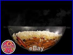 Uzbek Kazan Qozon Cookware Wok Cast Iron Pot 16l