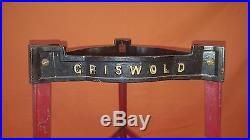Very Rare Griswold Cast Iron 1071 Dutch Oven Pot Store Display All Original