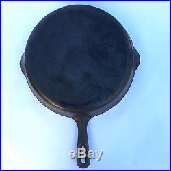 VINTAGE RARE VHTF Griswold #9 Y No. 9 Cast Iron Grill Pan Skillet Small Logo EUC