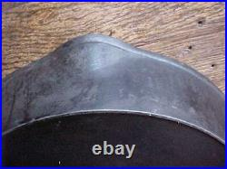 VINTAGE SYDNEY O. HOLLOWWARE Co. CAST IRON SKILLET #11 FRYING PAN With HEAT RING