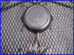 Very Htf, Griswold #2 Large Block Logo Epu Cast Iron Skillet