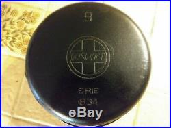 Very Rare Misspelled Girswold Misprint #9 Slant Logo LID & Matching Dutch Oven