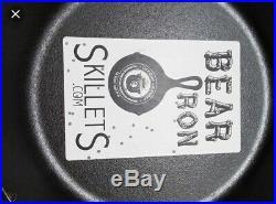 Very Rare Smokey Bear Lodge Cast Iron Pan