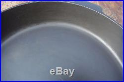 Vintage 13 GRISWOLD Cast Iron SKILLET Frying Pan Restored Collector Grade