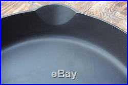 Vintage 13 GRISWOLD Cast Iron SKILLET Frying Pan Restored Collector Grade