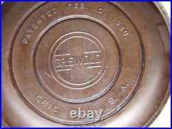 Vintage 1920 Griswold Cast Iron Dutch Oven No 8 1295 With Tite Top LID 25513