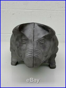 Vintage BBQ Pig Hog Grill Cast Iron Grilling Grate