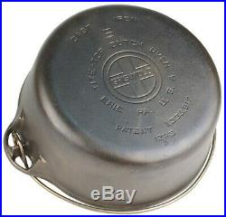 Vintage Block Logo Griswold No 8 (1278A) Cast Iron Dutch Oven Ex Restored Cond