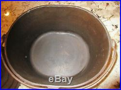 Vintage Cast Iron Oval Roaster Dutch Oven 1301 Unknown Wagner Griswold