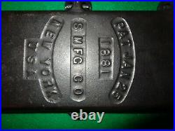 Vintage Cast-iron Pancake Flipper S MFC CO New York PAT Jan 25 1881
