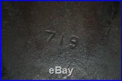 Vintage Erie Griswold 12 Cast Iron Skillet 719