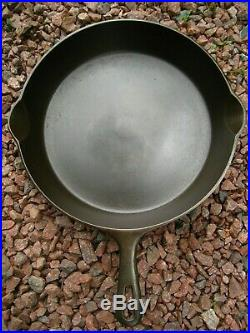 Vintage Fully Restored # 10 Griswold Small Logo Cast Iron skillet PN. #716 E