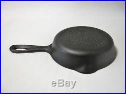 Vintage GRISWOLD EPU Cast Iron Skillet No. 2 703 6 Rare HTF