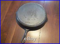 Vintage Griswold # 12 skillet with smoke ring
