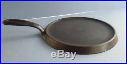 Vintage Griswold #6 606 Cast Iron Griddle Large Logo USA no warping