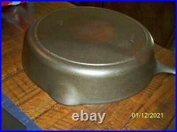 Vintage Griswold #9 Iron Mountain Cast Iron Skillet With Heat Ring 1082