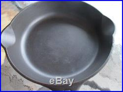 Vintage Griswold Cast Iron #2 skillet with heat ring, P/N 703 Erie, PA