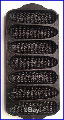 Vintage Griswold Cast Iron Crispy Corn Wheat Stick #280 Patent # 637 RARE