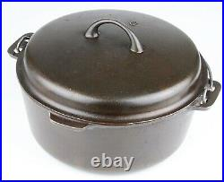 Vintage Griswold Iron Mountain No 9 Cast Iron Dutch Oven Restored Cond
