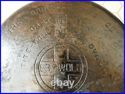 Vintage Griswold No. 10 Tite-Top Dutch Oven with TrivetALL COMPLETE