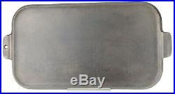 Vintage Griswold No 8 (908) Cast Iron Long Griddle Excellent Restored Condition
