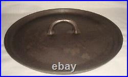 Vintage Griswold Wagner Ware #10 Cast Iron 3 Footed Tite-Top Dutch Oven withLid