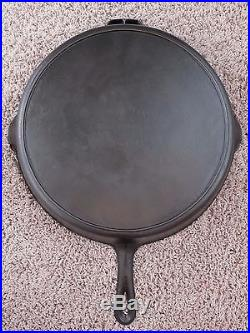 Vintage Martin Stove and Range #14 Cast Iron Heat Ring Skillet HTF Florence AL