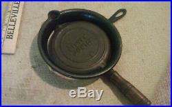 Vintage Mini Cast Iron StoverJunior 8 Griddle Waffle Iron Cookware
