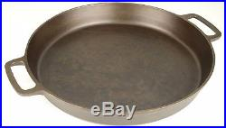 Vintage Pre-1960s Unmarked Lodge No 20 Cast Iron Skillet Fully Restored Cond