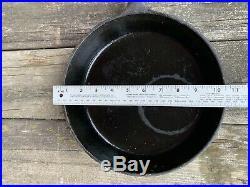 Vintage Rare Mallard Duck Wildlife Lodge Cast Iron Skillet Pan 10