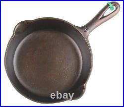 Vintage Slant Erie EPU Griswold No 4 (702) Cast Iron Excel Restored Condition