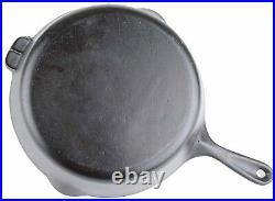 Vintage Unmarked Wagner Ware No 9 Cast Iron Chicken Fryer Skillet Restored Cond