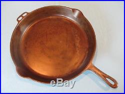 Vintage Wagner Sidney Ohio #14 Cast Iron Skillet withHeat Ring PN #1054 Very Nice