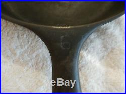 Vintage Wagner Ware Sidney Set Of 4 Cast Iron Pans Rare! Very Old