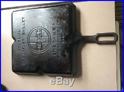 Vintagerare Griswold Cast Iron Colonial Breakfast Skillet Large Logo #666