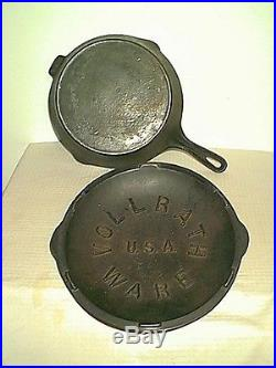 Vollrath Colony Cast Iron # 8 Chicken Fryer / Skillet With LID And Heat Ring