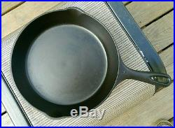 Vollrath Ware Fully Marked Set #4 #9 Very Nice Vintage Cast Iron Skillet Set