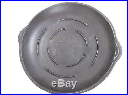 Vtg 8 Griswold Erie 777 Chicken Fryer Cast Pan Smooth Iron Age Basting Drip Lid