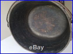 Vtg Cast Iron Oval Roaster Lid Cover 1300 1301 Antique HTF Rare Griswold Wagner