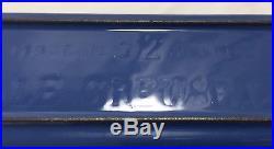 Vtg LE CREUSET Pate Terrine Loaf Pan No. 32 BLUE Enamel Cast Iron with Lid