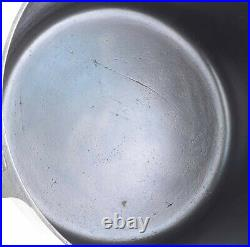 Vtg Pre-Griswold Erie No 8 (811) Cast Iron Flat Bottom Kettle Excel Condition