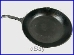 Vtg WAGNER WARE 11 inch Chef Skillet Cast Iron #1390 Sydney -O- Arc logo Seasond