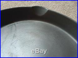 Vtg. Wagner/griswold #14 Skillet With Heat Ring Restored And Seasoned