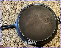 WAGNER WARE CAST IRON SKILLET #13 Model 1063 Very RARE
