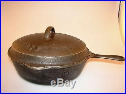 Wagner National 8 Cast Iron Skillet 1088 With Correct 1088 B Matching Cover