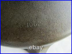 Wagner Ware -0- Sidney No 12 Cast Iron Skillet 1062 Rare Vintage Good Condition